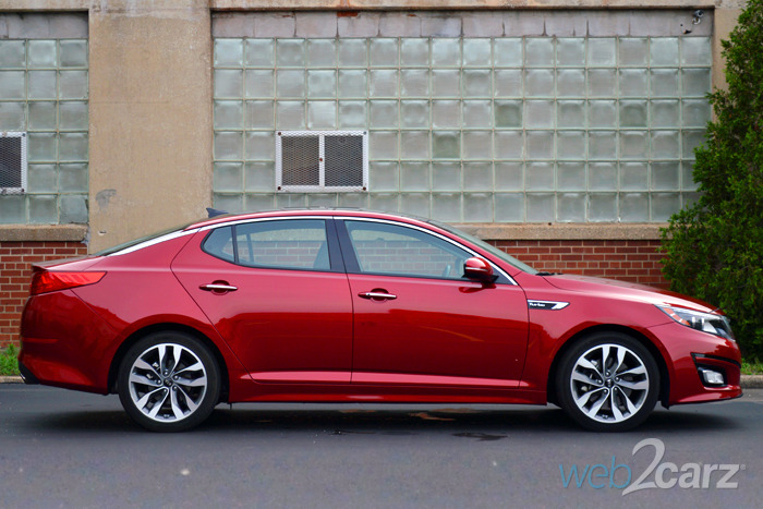 2014 Kia Optima SX Turbo Review