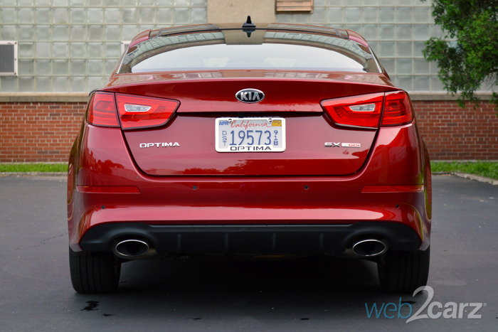 2014 Kia Optima SX Turbo Review | Web2Carz