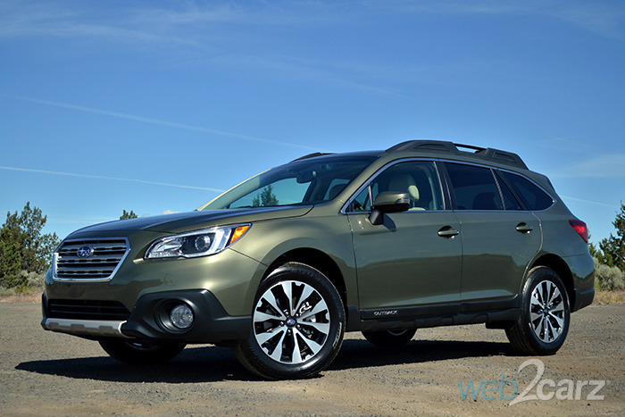 first drive 2015 subaru outback web2carz. Black Bedroom Furniture Sets. Home Design Ideas