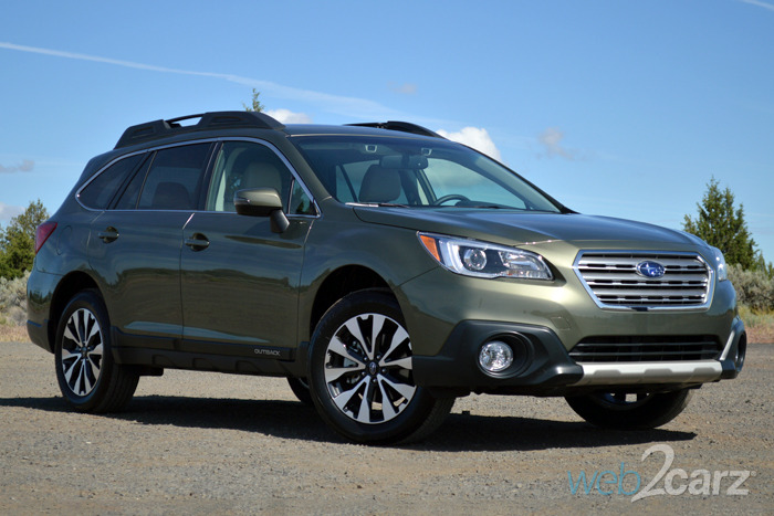 FIRST DRIVE: 2015 Subaru Outback