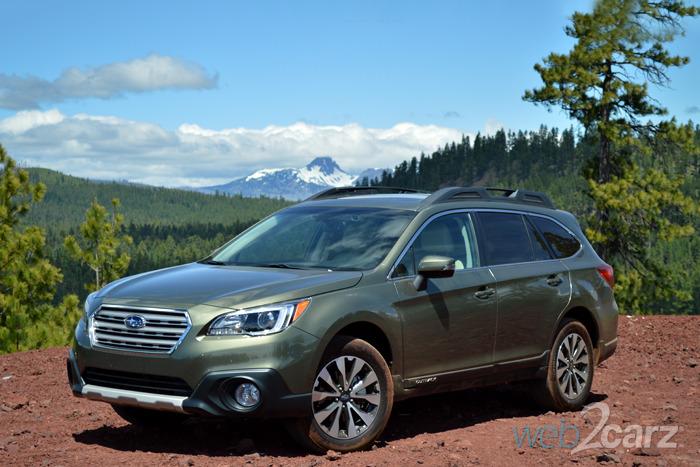 FIRST DRIVE: 2015 Subaru Outback | Web2Carz