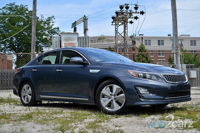 2014 Kia Optima Hybrid EX Review | Web2Carz