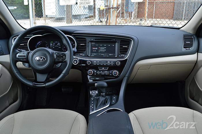 2014 Kia Optima Hybrid Ex Review Web2carz