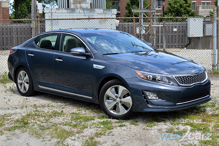 2014 Kia Optima Hybrid EX Review