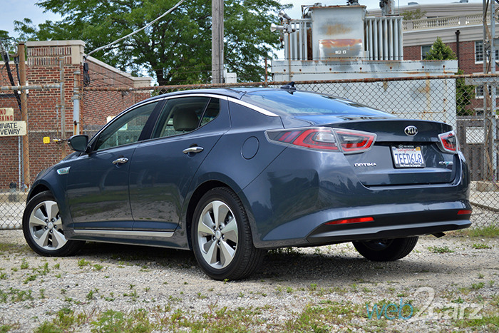 2014 Kia Optima Hybrid Ex Review Web2carz