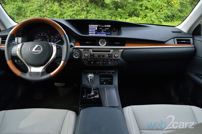 lexus es review webcarz