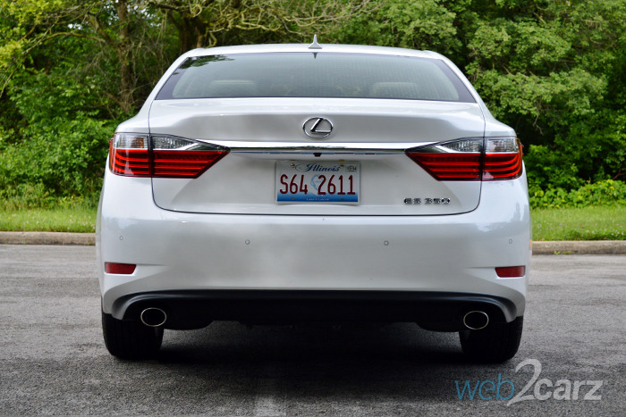 Loan With Bad Credit >> 2014 Lexus ES350 Review | Web2Carz