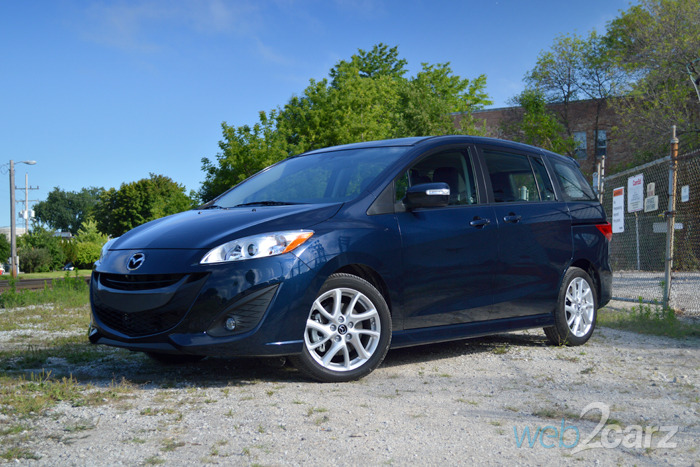 2014 Mazda Mazda5 Grand Touring Review