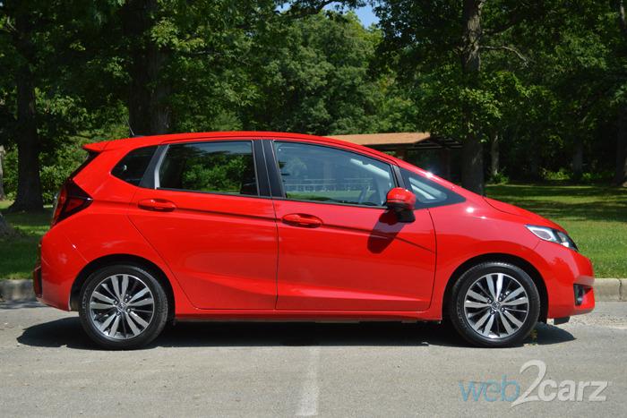 2015 Honda Fit Ex L Review Web2carz
