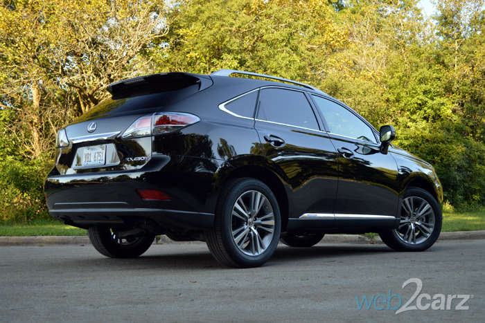 2015 Lexus RX 450h Review