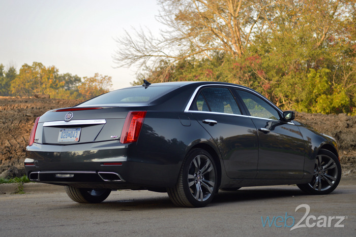 2014 cadillac cts vsport review web2carz. Cars Review. Best American Auto & Cars Review