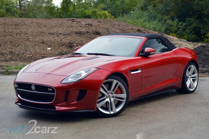 2014 jaguar f type s convertible review web2carz. Black Bedroom Furniture Sets. Home Design Ideas