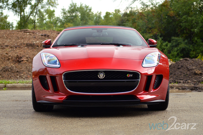 2014 Jaguar F-Type S Convertible Review
