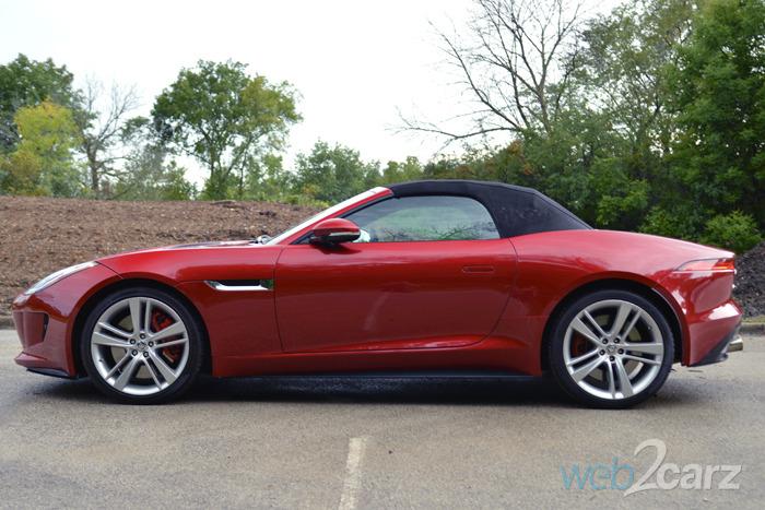 2014 jaguar f type s convertible review web2carz. Cars Review. Best American Auto & Cars Review