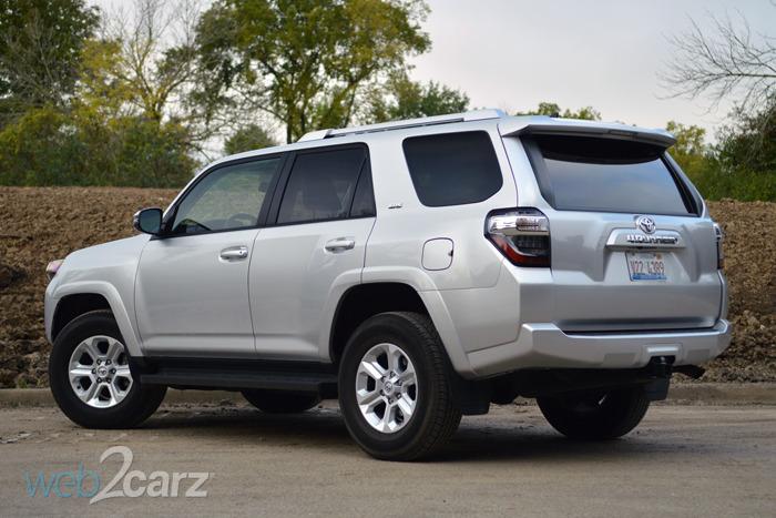 Toyota Ford Runner >> 2014 Toyota 4Runner SR5 Premium Review   Web2Carz