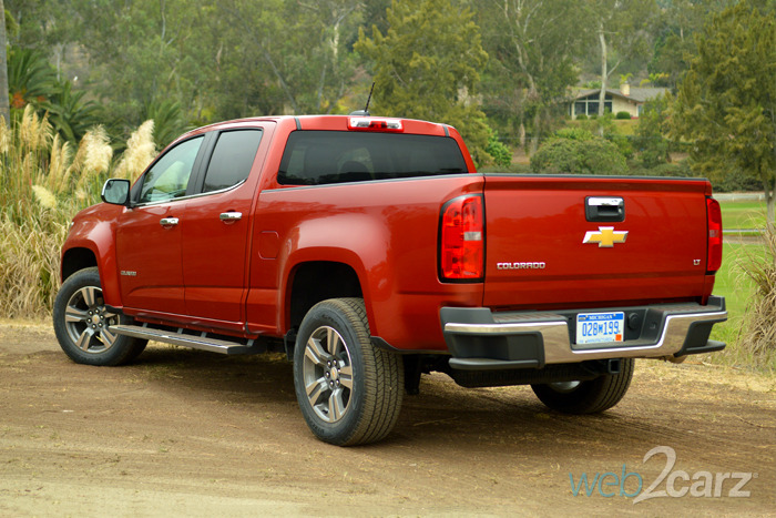 FIRST DRIVES: 2015 Chevrolet Colorado + GMC Canyon