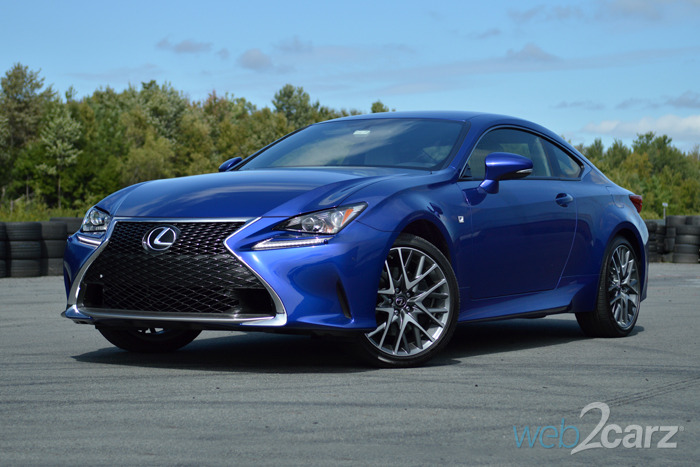 FIRST DRIVE: 2015 Lexus RC