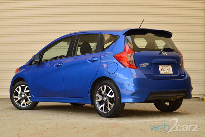 2015 Nissan Versa Note Sr Review Web2carz