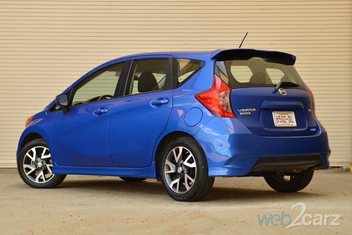 2015 Nissan Versa Note SR Review | Web2Carz