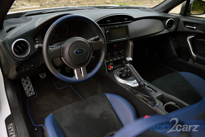 2015 Subaru Brz Series Blue Review Web2carz