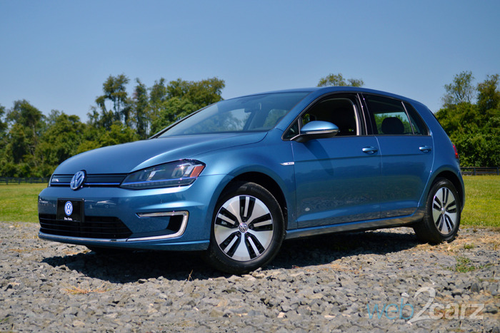 FIRST DRIVE: 2015 Volkswagen e-Golf
