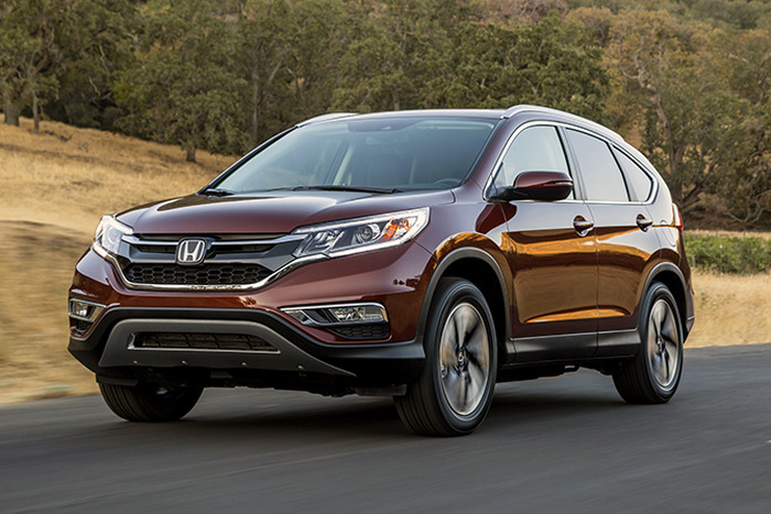FIRST DRIVE: 2015 Honda CR-V Touring Review