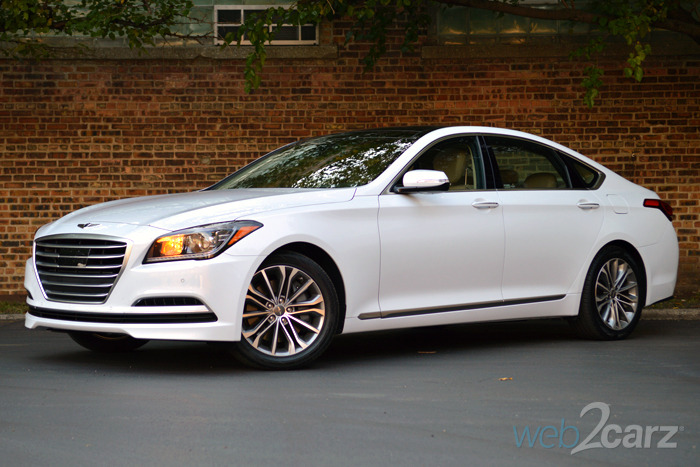 2015 Hyundai Genesis 3.8 Review