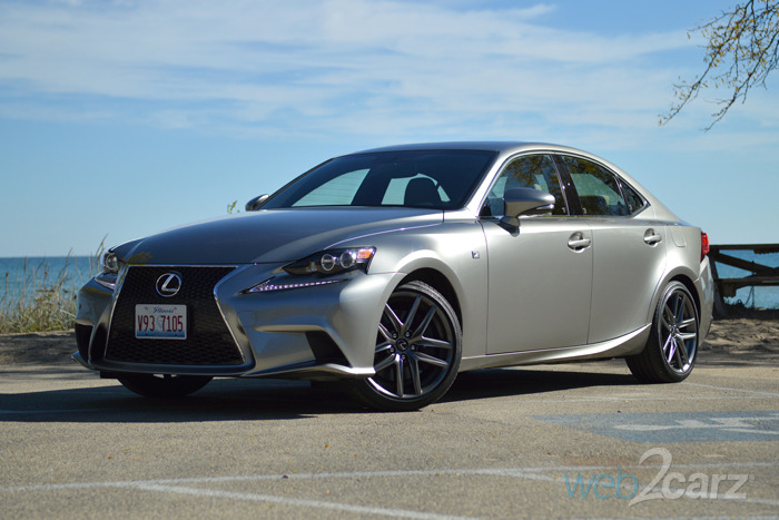 2015 lexus is 350 f sport review web2carz. Black Bedroom Furniture Sets. Home Design Ideas