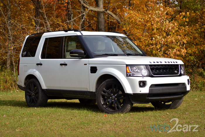 2014 Land Rover LR4 HSE LUX Review
