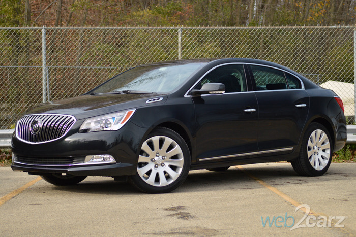 2015 Buick LaCrosse Premium I Review   Web2Carz