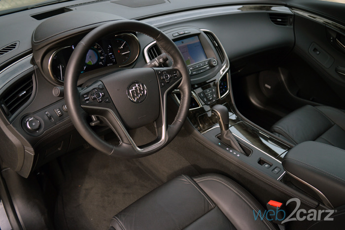 Buick Lacrosse Premium I Interior Above X on 2014 Buick Lacrosse