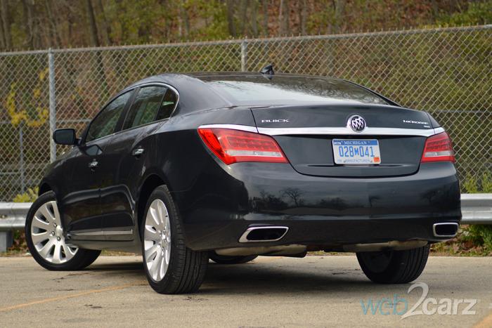 2015 Buick LaCrosse Premium I Review | Web2Carz