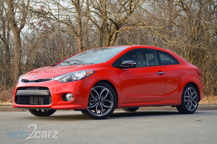 2014 kia forte koup sx review web2carz. Black Bedroom Furniture Sets. Home Design Ideas
