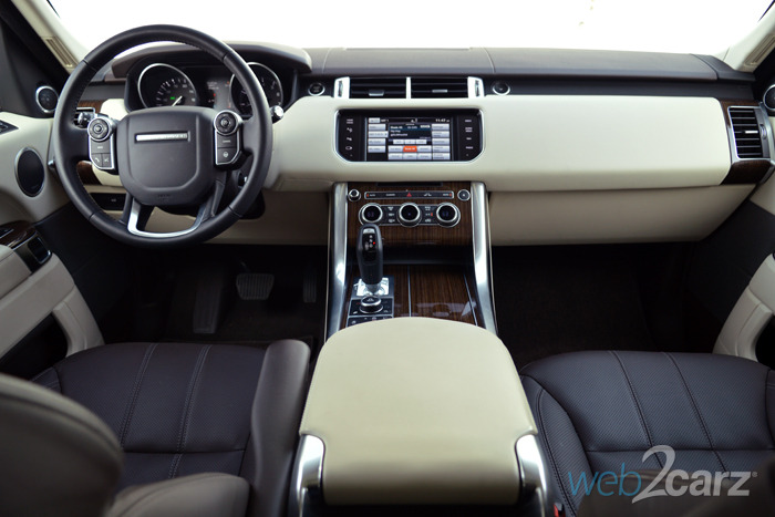 2014 Land Rover Range Rover Sport Hse Review Web2carz