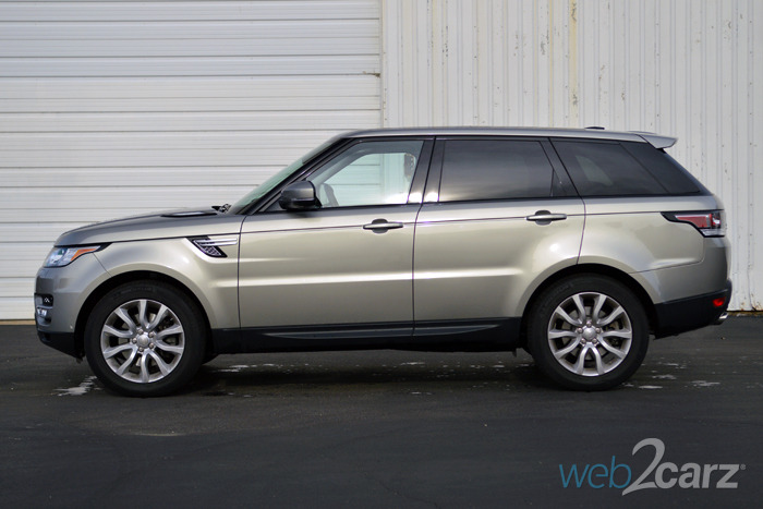 2014 Land Rover Range Rover Sport HSE Review