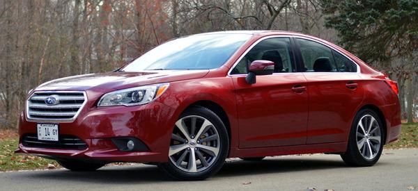 2015 Subaru Legacy 3 6r Limited Review Web2carz