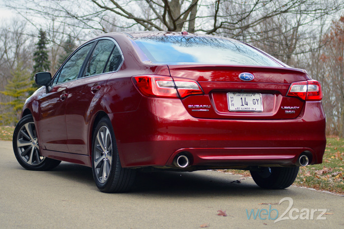 Legacy Auto Sales >> 2015 Subaru Legacy 3.6R Limited Review   Web2Carz