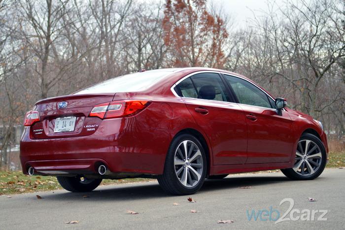 2015 Subaru Legacy 3.6R Limited Review | Web2Carz