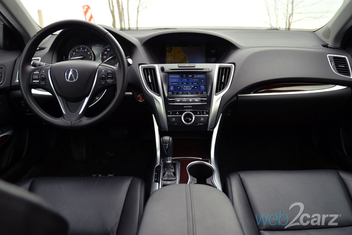 2015 Acura Tlx Tech >> 2015 Acura TLX 2.4 Review | Web2Carz