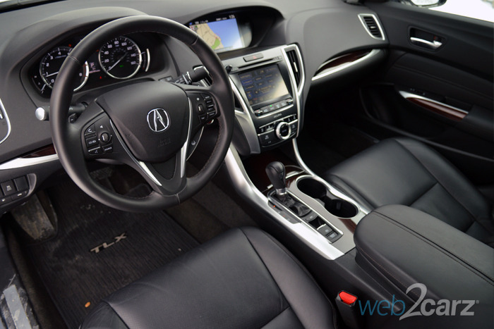 2015 Acura TLX 2.4 Review | Web2Carz