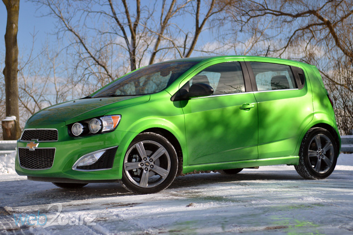 2015 chevrolet sonic rs 5 door review web2carz. Black Bedroom Furniture Sets. Home Design Ideas