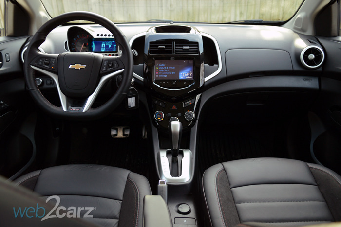 American Auto Finance >> 2015 Chevrolet Sonic RS 5-Door Review | Web2Carz