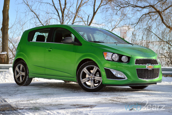 2015 Chevrolet Sonic RS 5-Door Review