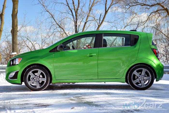 2015 Chevrolet Sonic RS 5-Door Review   Web2Carz