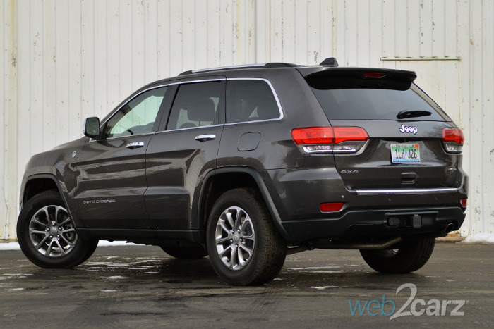 2015 jeep grand cherokee limited 4x4 review web2carz. Black Bedroom Furniture Sets. Home Design Ideas