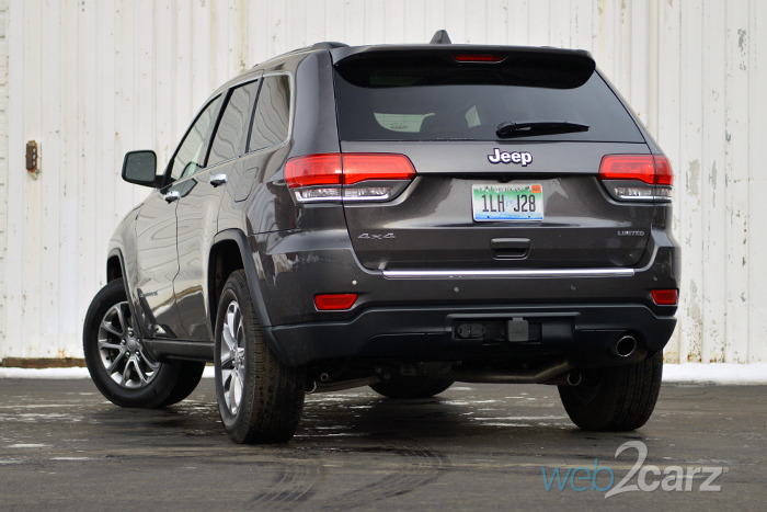 2015 Jeep Grand Cherokee Limited 4x4 Review Web2carz