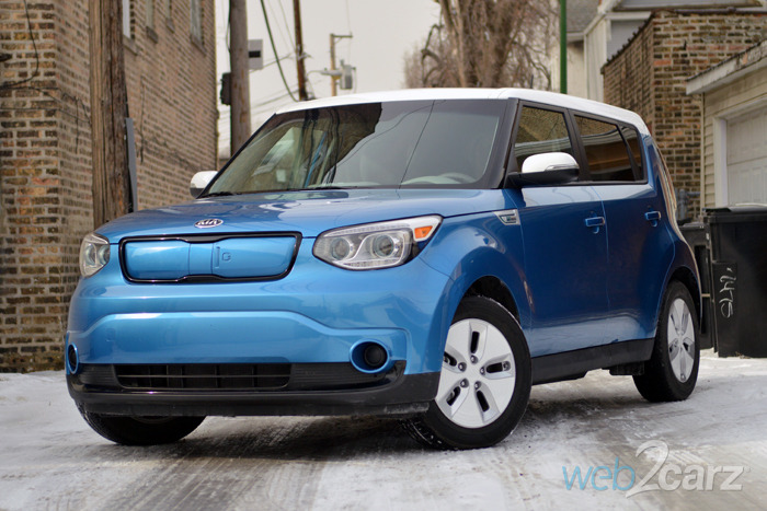 2015 kia soul ev review web2carz. Black Bedroom Furniture Sets. Home Design Ideas