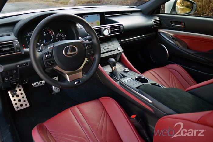 2015 Lexus RC F Review
