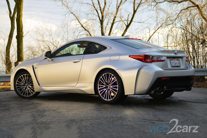 2015 Lexus RC-F Review