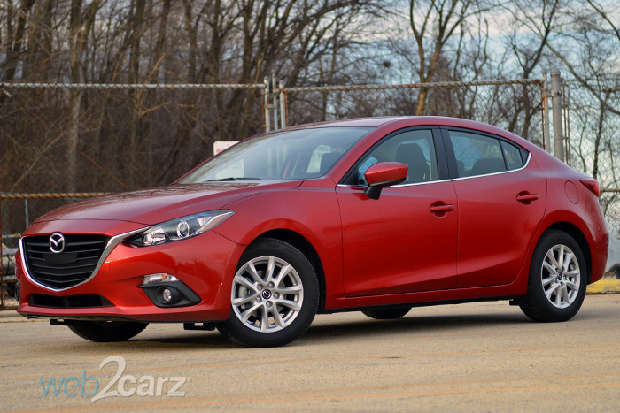 Green Kia Soul >> 2015 Mazda Mazda3 i Touring Review | Web2Carz